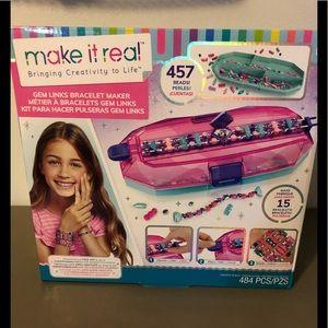 Make It Real Gem Links Bracelet Maker New